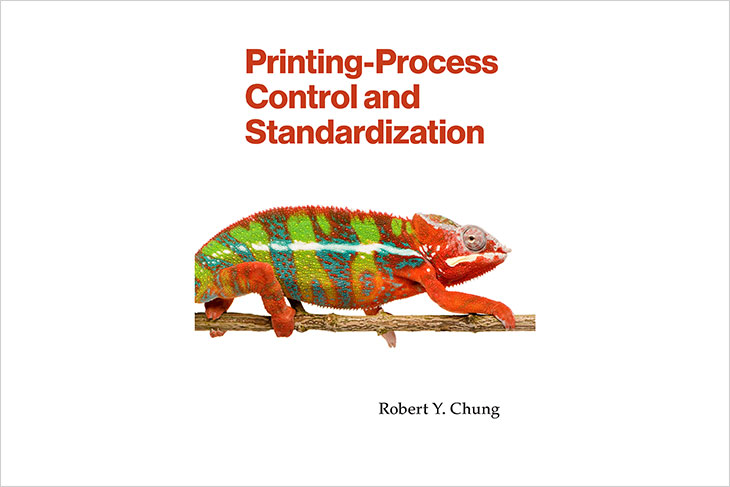 the cover of the book Printing-Process Control and Standardization.