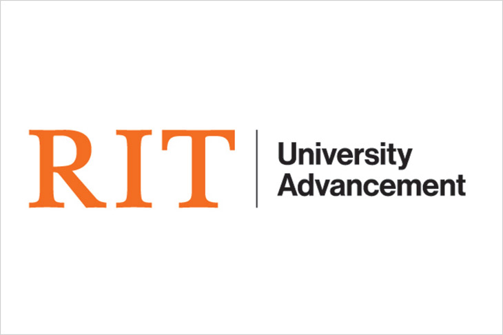logo for RIT University Advancement.