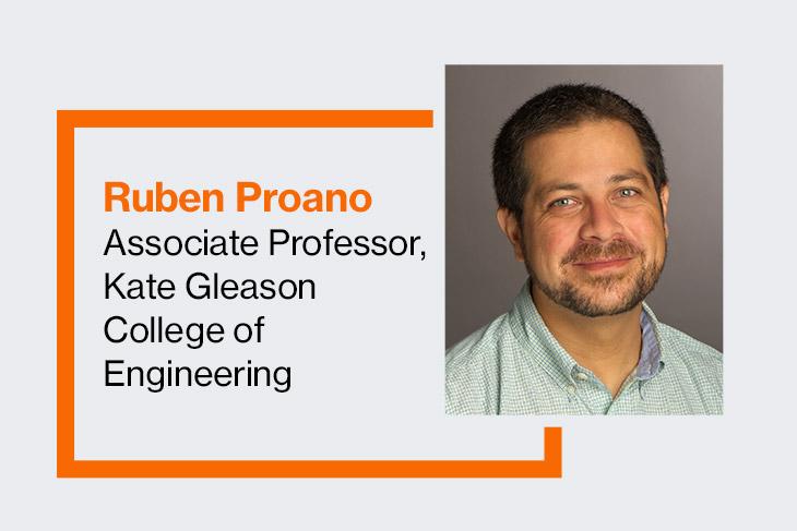 Ruben Proano, associate professor, Kate Gleason College of Engineering.