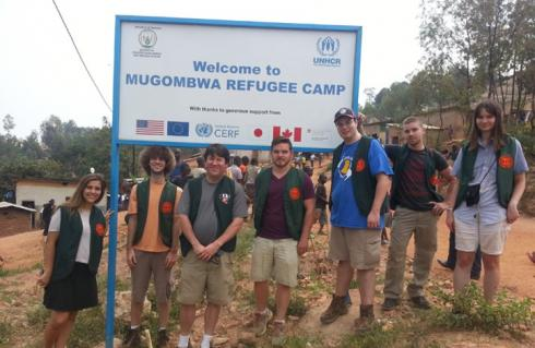 RIT Team Spends Winter Break Helping Refugees in Rwanda