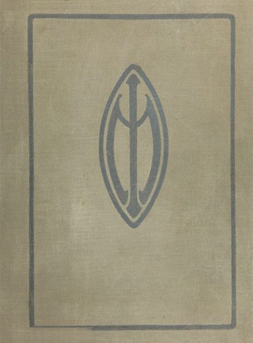 cover design of 1912 yearbook