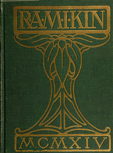 cover design of 1914 yearbook