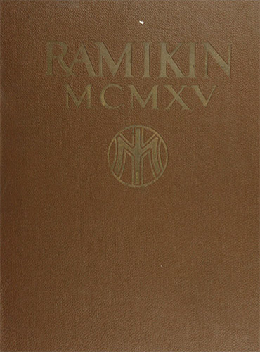 cover design of 1915 yearbook