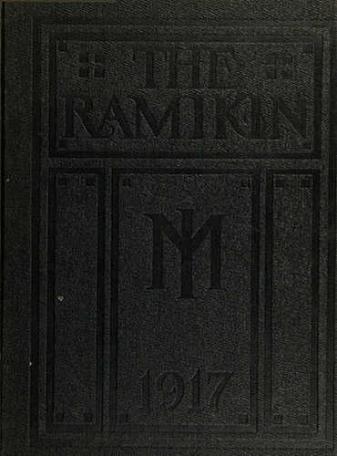 cover design of 1917 yearbook