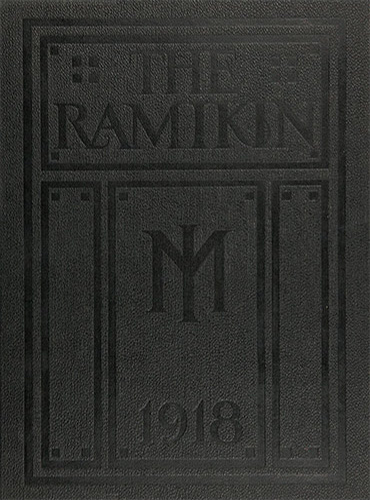 cover design of 1918 yearbook