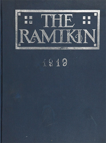 cover design of 1919 yearbook