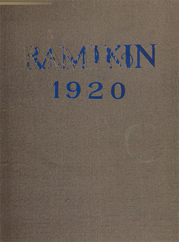 cover design of 1920 yearbook