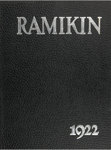 cover design of 1922 yearbook