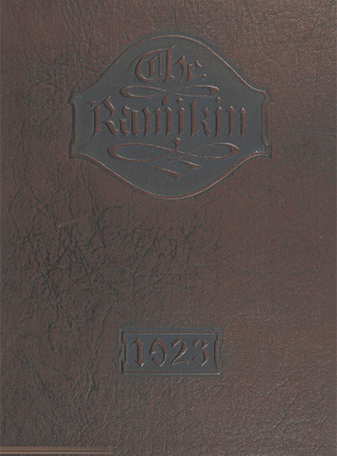 cover design of 1923 yearbook