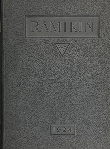 cover design of 1924 yearbook