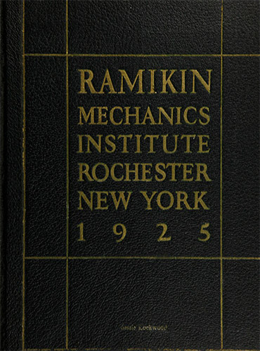 cover design of 1925 yearbook