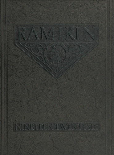 cover design of 1926 yearbook
