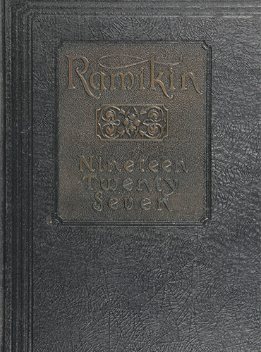 cover design of 1927 yearbook