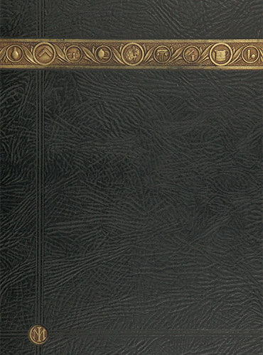 cover design of 1929 yearbook