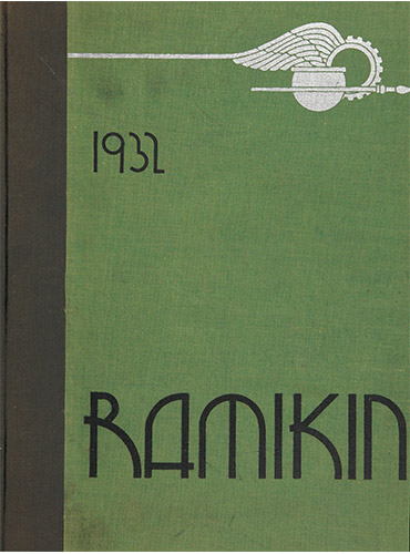 cover design of 1932 yearbook