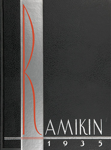 cover design of 1935 yearbook