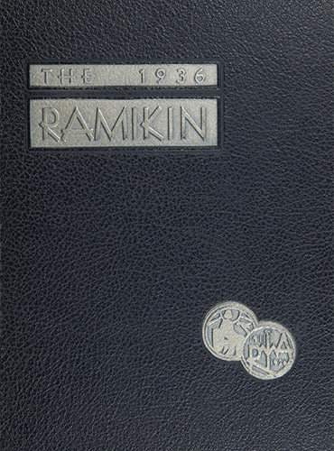 cover design of 1936 yearbook