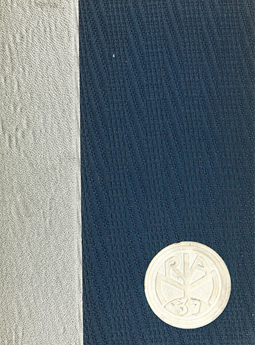 cover design of 1937 yearbook