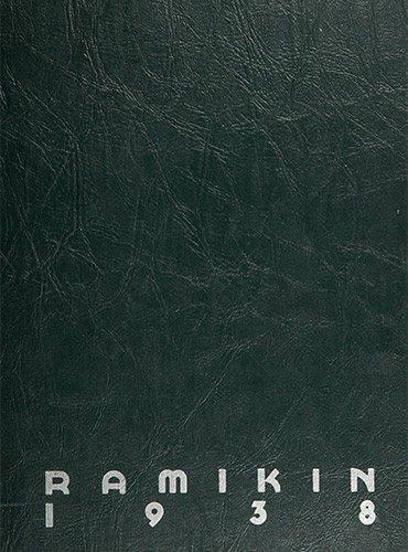 cover design of 1938 yearbook