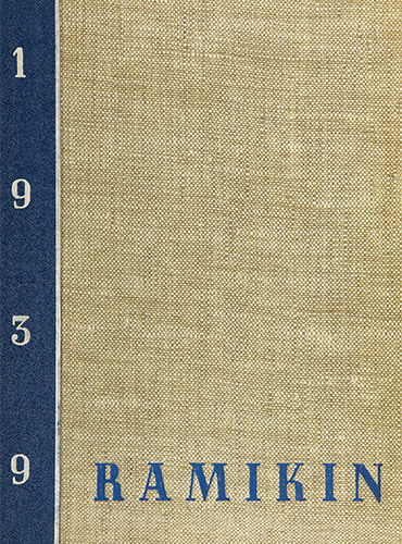 cover design of 1939 yearbook