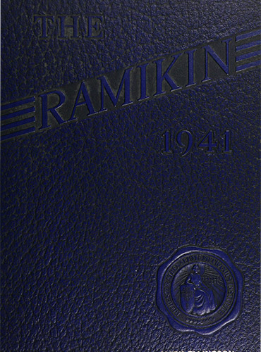 cover design of 1941 yearbook
