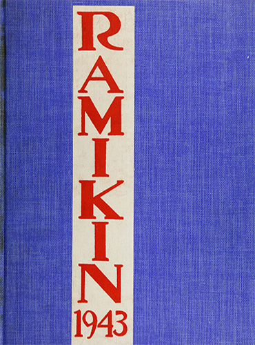 cover design of 1943 yearbook