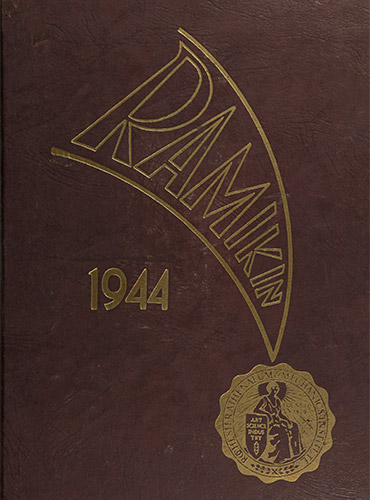 cover design of 1944 yearbook