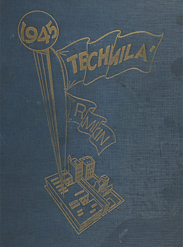 cover design of 1945 yearbook