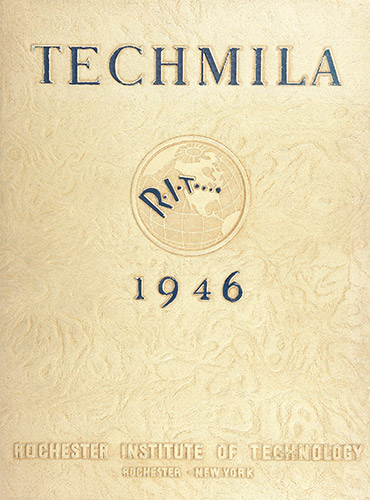 cover design of 1946 yearbook