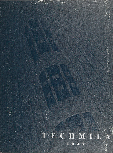 cover design of 1947 yearbook