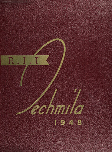 cover design of 1948 yearbook