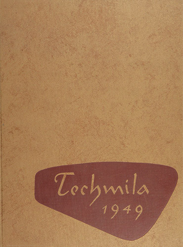 cover design of 1949 yearbook
