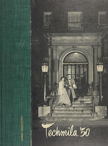 cover design of 1950 yearbook