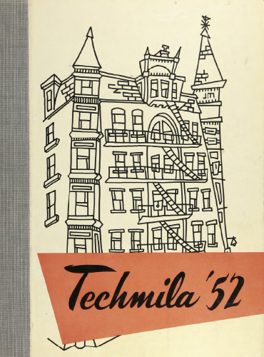 cover design of 1952 yearbook