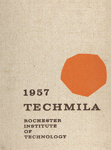 cover design of 1957 yearbook