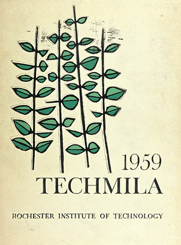 cover design of 1959 yearbook