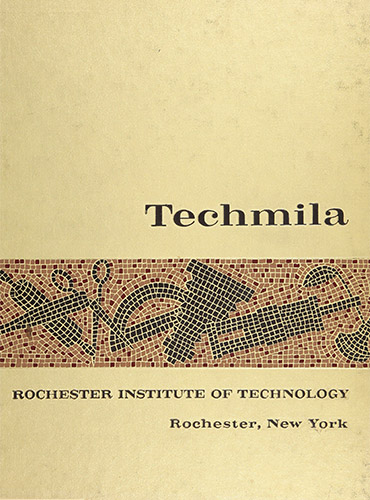 cover design of 1960 yearbook