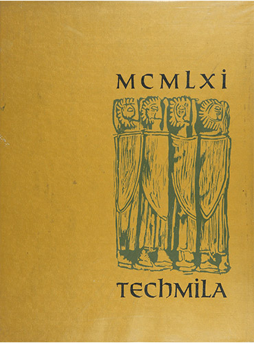 cover design of 1961 yearbook