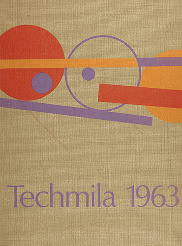 cover design of 1963 yearbook