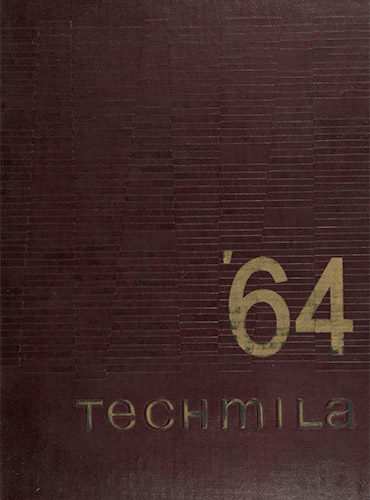 cover design of 1964 yearbook