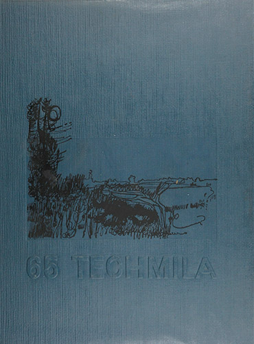 cover design of 1965 yearbook