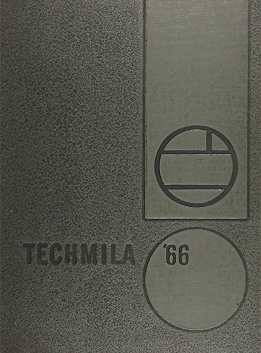 cover design of 1966 yearbook