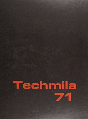 cover design of 1971 yearbook