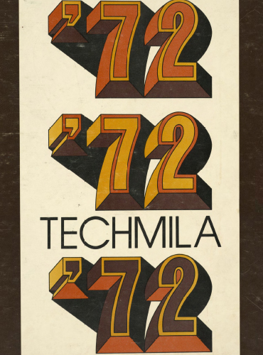 cover design of 1972 yearbook