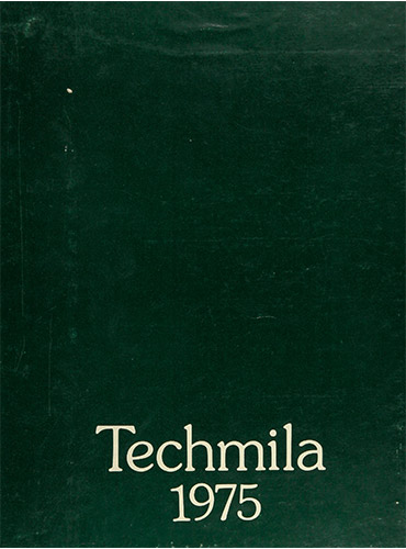 cover design of 1975 yearbook