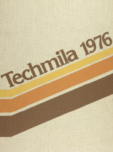cover design of 1976 yearbook