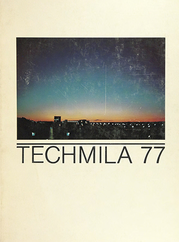 cover design of 1977 yearbook