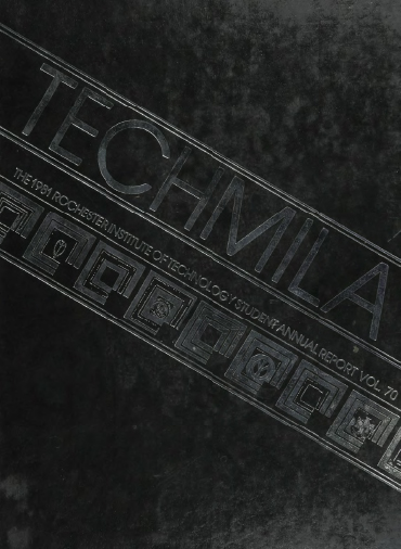 cover design of 1981 yearbook