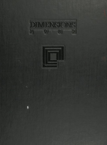 cover design of 1982 yearbook