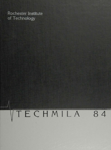 cover design of 1984 yearbook